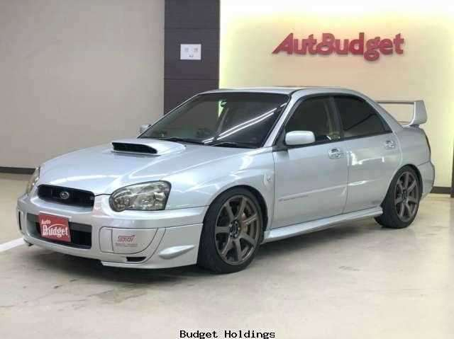 Used Subaru Wrx Sti >> Used Subaru Impreza Wrx Sti 2004 Feb Gdb 024985 In Good Condition