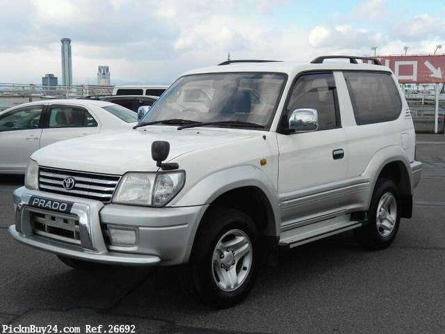 Used Toyota Land Cruiser Prado for sale