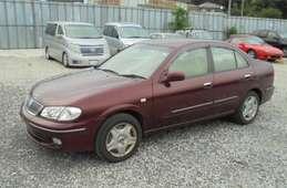 Nissan Bluebird Sylphy 2002