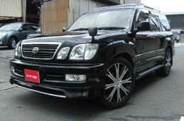 Toyota Land Cruiser Cygnus 2001