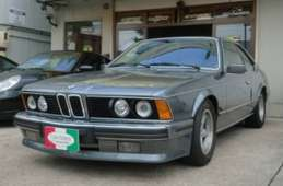 BMW 6 Series Coupe 1988