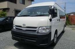 Toyota Hiace Commuter 2012