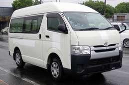 Toyota Hiace Van 2014