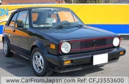 Volkswagen Golf Convertible 1992