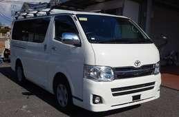 Toyota Hiace Van 2013