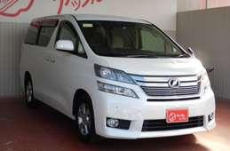Toyota vellfire 2012