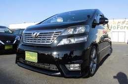 Toyota vellfire 2010