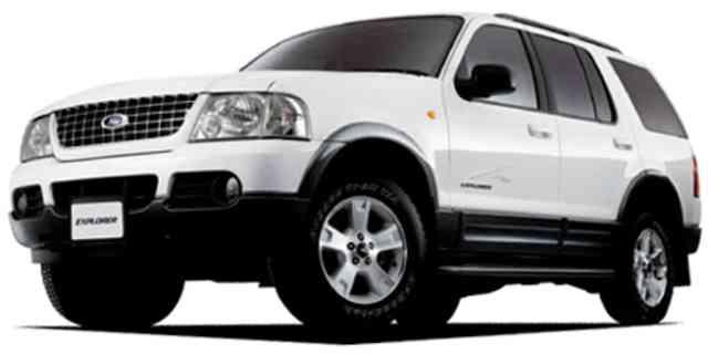 Ford Explorer White Edge