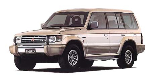 MITSUBISHI PAJERO WIDE SUPER EXCEED 1992