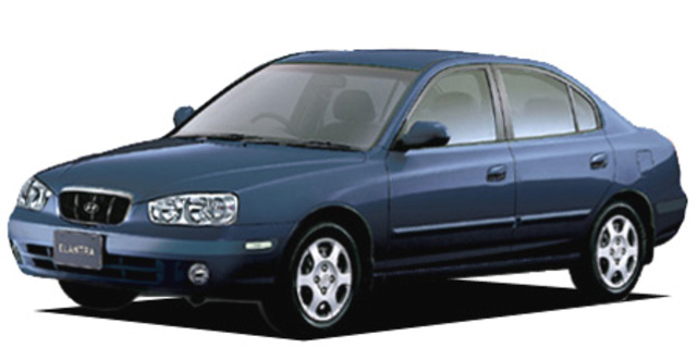 hyundai elantra 1 8gl specs dimensions and photos car from japan hyundai elantra 1 8gl specs dimensions