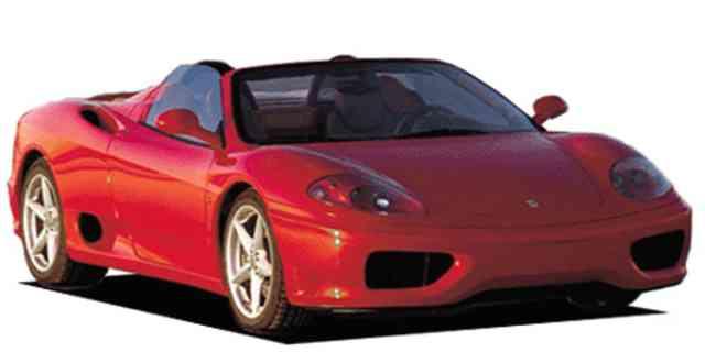Ferrari 360 Ferrari 360 Spider 2000 Japanese Vehicle