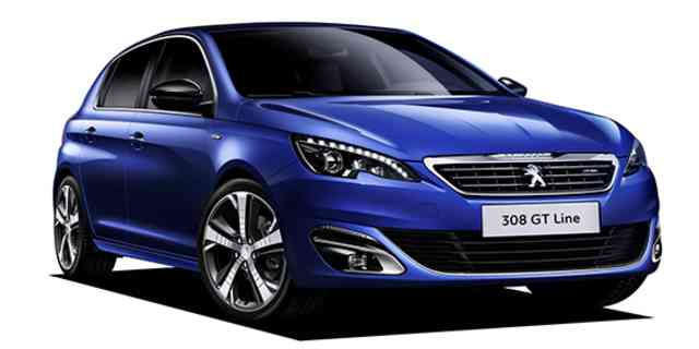 Peugeot 308 Peugeot 308 Gt Line 2015 Japanese Vehicle