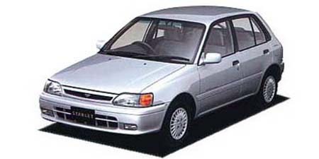 Toyota Starlet - Japanese Vehicle Specifications | CAR FROM