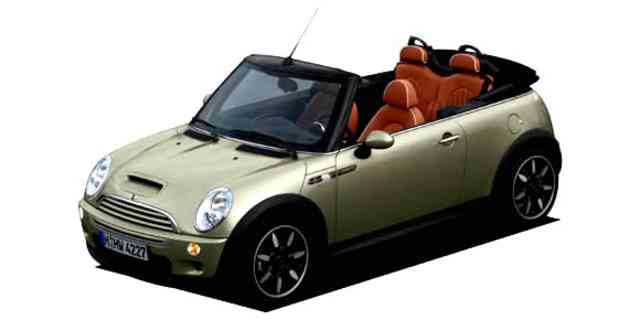 MINI COOPER S CONVERTIBLE SIDEWALK 2007