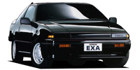 NISSAN EXA COUPE L.A.VERSION TYPE X