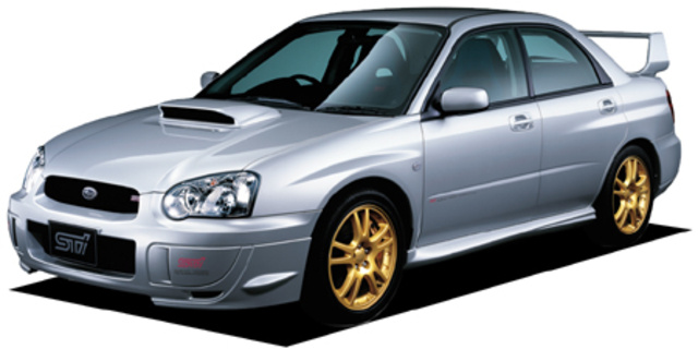Subaru Impreza Wrx Specs Dimensions And Photos Car From Japan