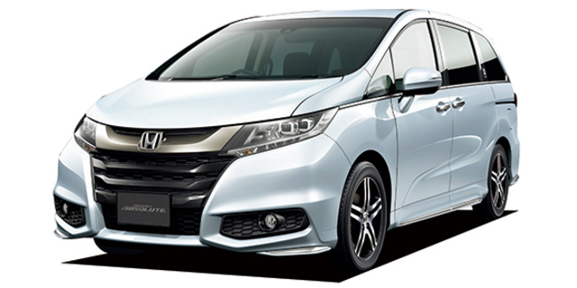 Honda Odyssey Dimensions >> Honda Odyssey Absolute 20th Anniversary Package Specs