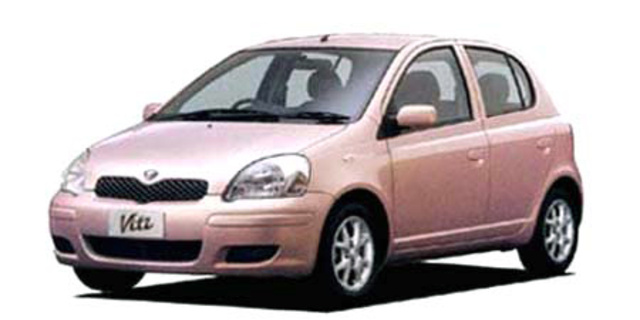 Toyota Vitz TOYOTA VITZ B 2002 - Japanese Vehicle