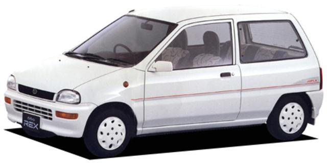 Subaru Rex Subaru Rex Jople 1990 Japanese Vehicle Specifications