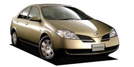 Nissan Primera  Japanese Vehicle Specifications  CAR FROM JAPAN