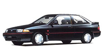 FORD JAPAN LASER COUPE LX