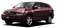 TOYOTA HARRIER HYBRID BASE GRADE