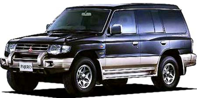 MITSUBISHI PAJERO WIDE SUPER EXCEED 1997