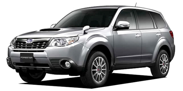 Subaru Forester S Edition Specs Dimensions And Photos Car From Japan