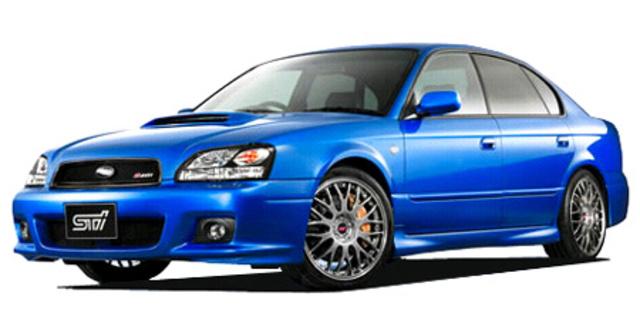 Subaru Legacy B4 Subaru Legacy B4 S401 Sti Version 2002 Japanese