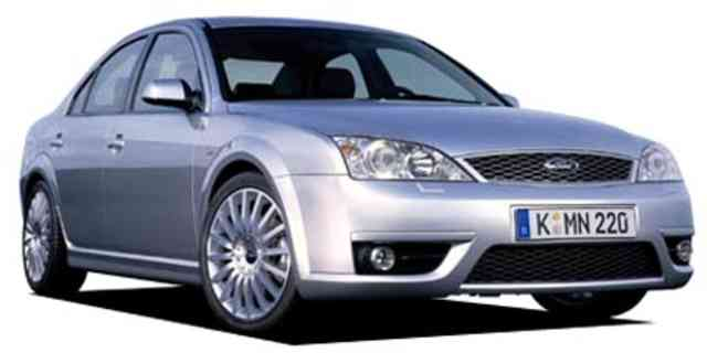 Europe Ford Mondeo EUROPE FORD MONDEO ST220 2005 - Japanese