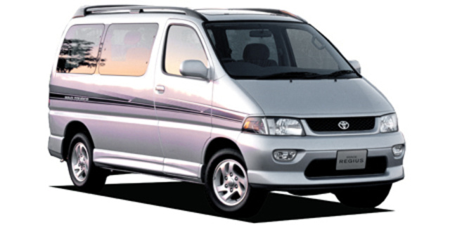 fd27f490f5 Toyota Hiace Van TOYOTA HIACE REGIUS WIND TOURER 1997 - Japanese ...