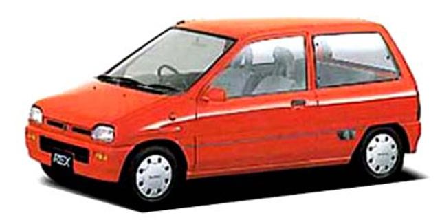 Subaru Rex Subaru Rex Mareno 1989 Japanese Vehicle Specifications