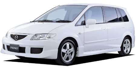mazda premacy japanese vehicle specifications car from japan. Black Bedroom Furniture Sets. Home Design Ideas
