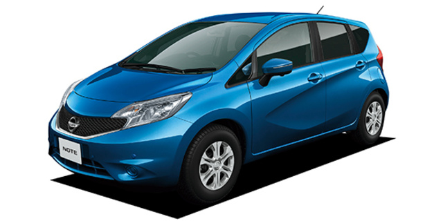 nissan note nissan note x v selection +safety 2014 - japanese
