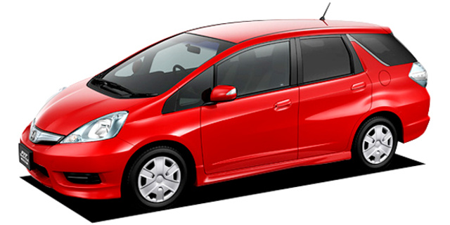 Honda Fit Shuttle Honda Fit Shuttle Hybrid Hybrid Smart Selection