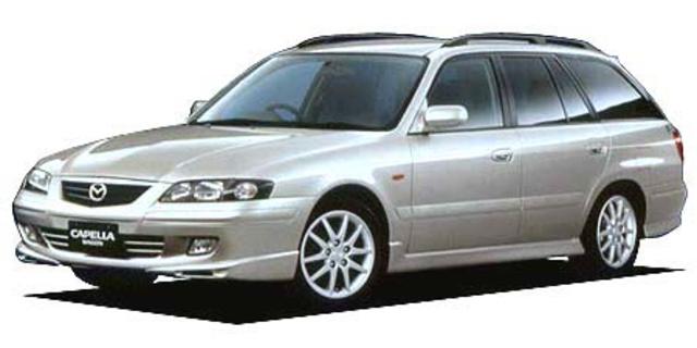 mazda capella wagon mazda capella wagon v-rx sport 2001 - japanese
