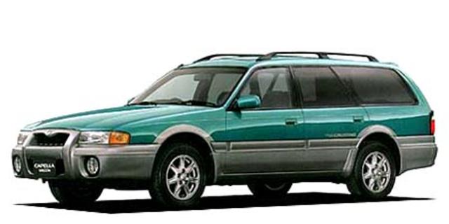 mazda capella wagon mazda capella wagon fx 1996 - japanese vehicle