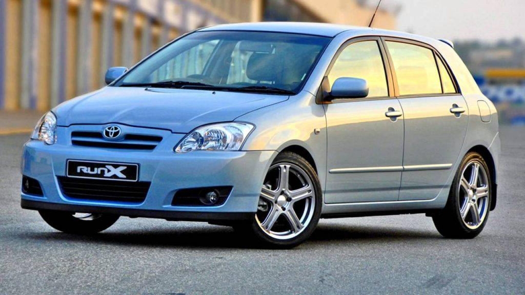 toyota corolla runx review a best compact japanese car to purchase Dark Blue Toyota Runx Pimped