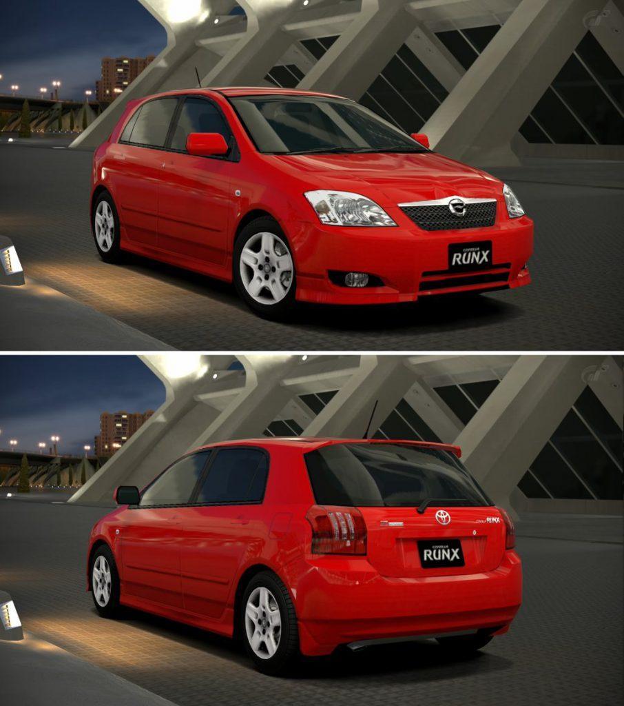 Toyota Corolla RunX Z exterior