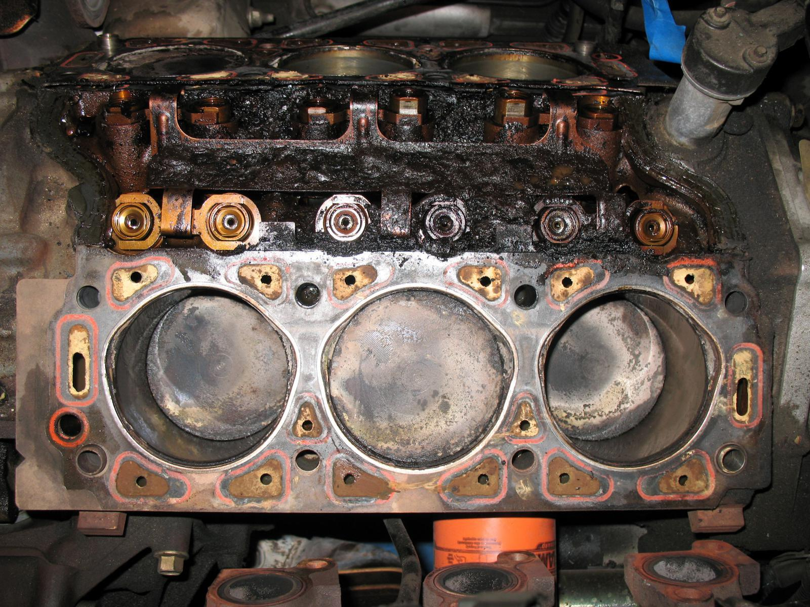 Head gasket is also needed some attention