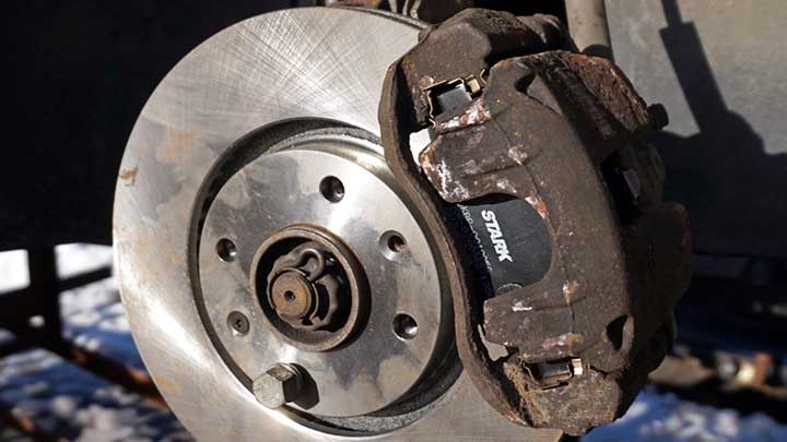 How to Solve Car's Brake Caliper Sticking Problem   CAR FROM