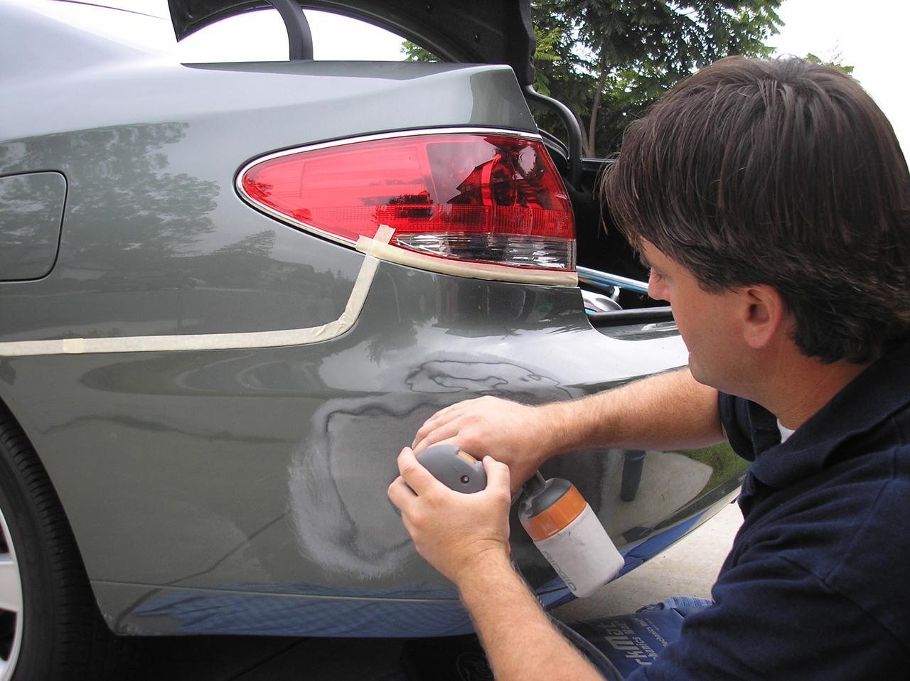 diy auto repair bumper repair