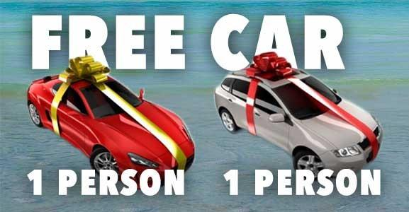 free car giveaway 2019 car giveaway caign is it free car scam or real 6780
