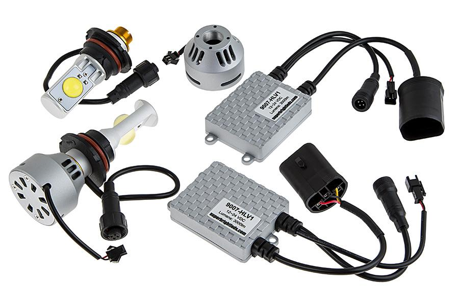 How To Do An Led Headlight Conversion Car From Japan