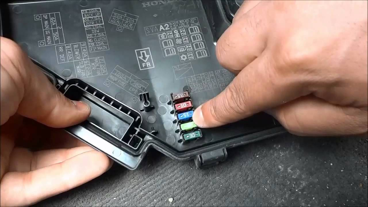WRG-7963] Nissan Serena Fuse Box Location