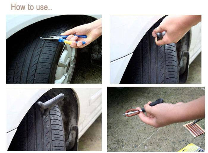 How To Use A Car Tire Repair Kit Car From Japan