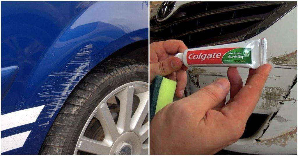 Remove Car Scratches With Toothpaste >> 3 Easy Ways To Do Car Paint Scratch Repair At Home