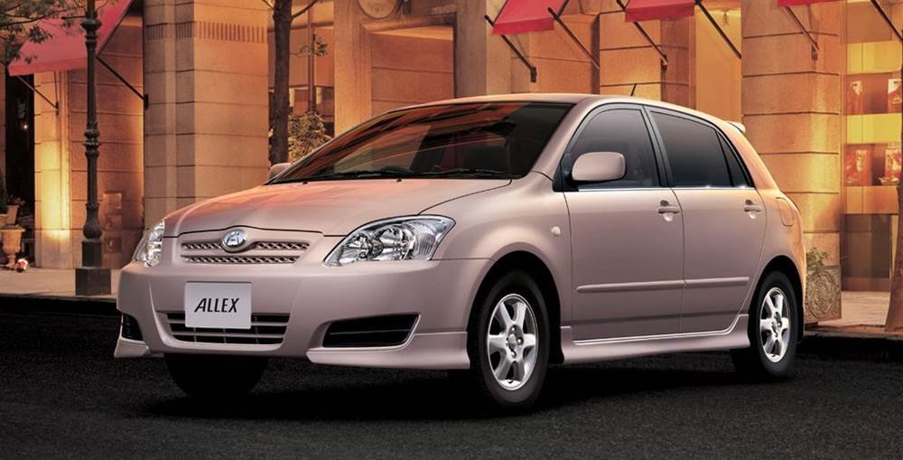 5 reasons you should choose toyota runx over allex car from japan Dark Blue Toyota Runx Pimped