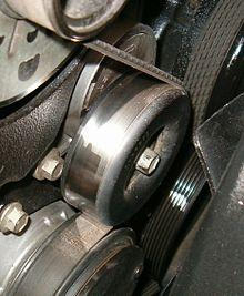 most of the time, serpentine belt tensioner causes engine vibration  when  the serpentine belt tensioner fails, the belt loses grips