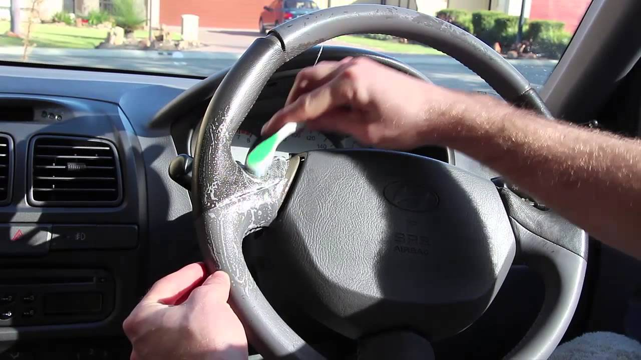 How To Clean Steering Wheel And Make It Shine Again